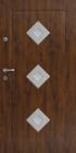 VHODNA VRATA DELTA FRAME DIAMOND3 INOX