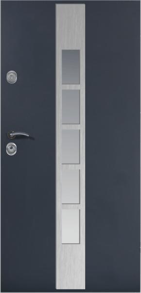VHODNA VRATA DELTA LADDER PLUS INOX